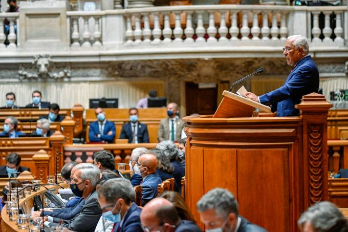 Portuguese Prime Minister Defends The Country's Budget For 2022 At The Parliament