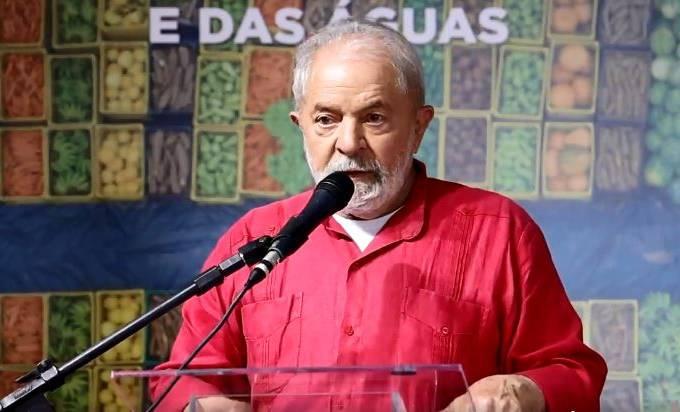 Lula evento fome