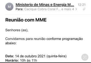 email do ministerio das minas e energia