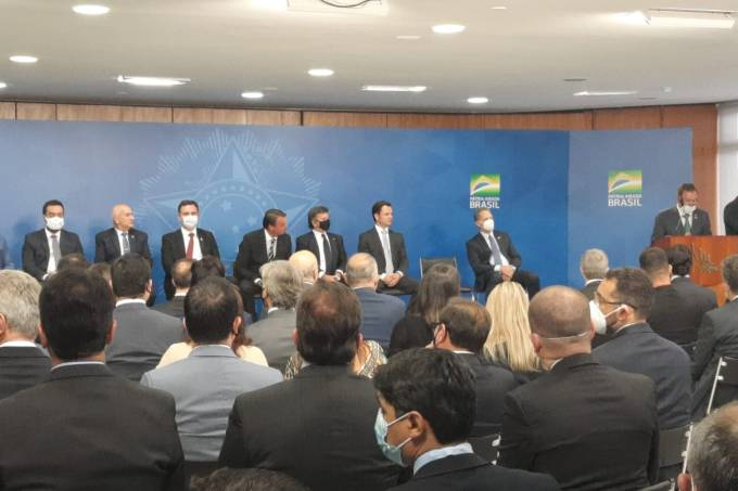 Evento de criação do TRF-6 no Palácio do Planalto 20 de outubro. Tribunal ficará em Minas Gerais.