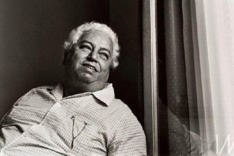 O artista Di Cavalcanti, célebre representante do modernismo brasileiro e um dos idealizadores da Semana de 1922