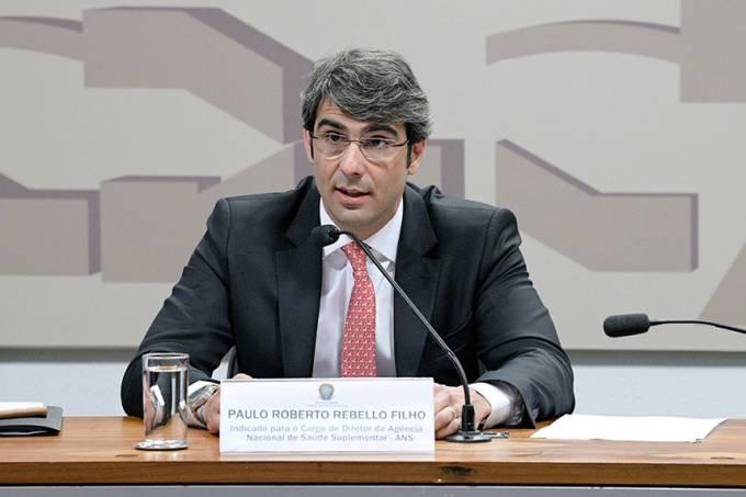 O presidente da Agência Nacional de Saúde Suplementar, Paulo Roberto Vanderlei Rebello Filho