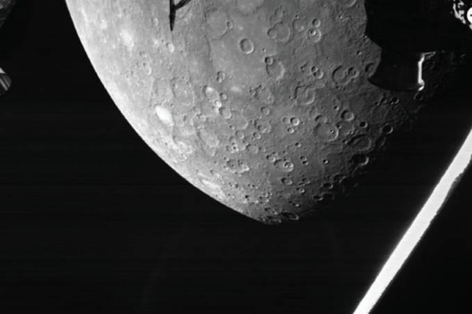 Primeira imagem de Mercúrio