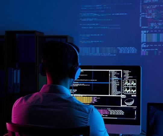 Imagem de um programador
