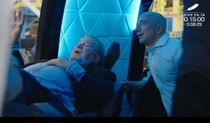 William Shatner e Jeff Bezos